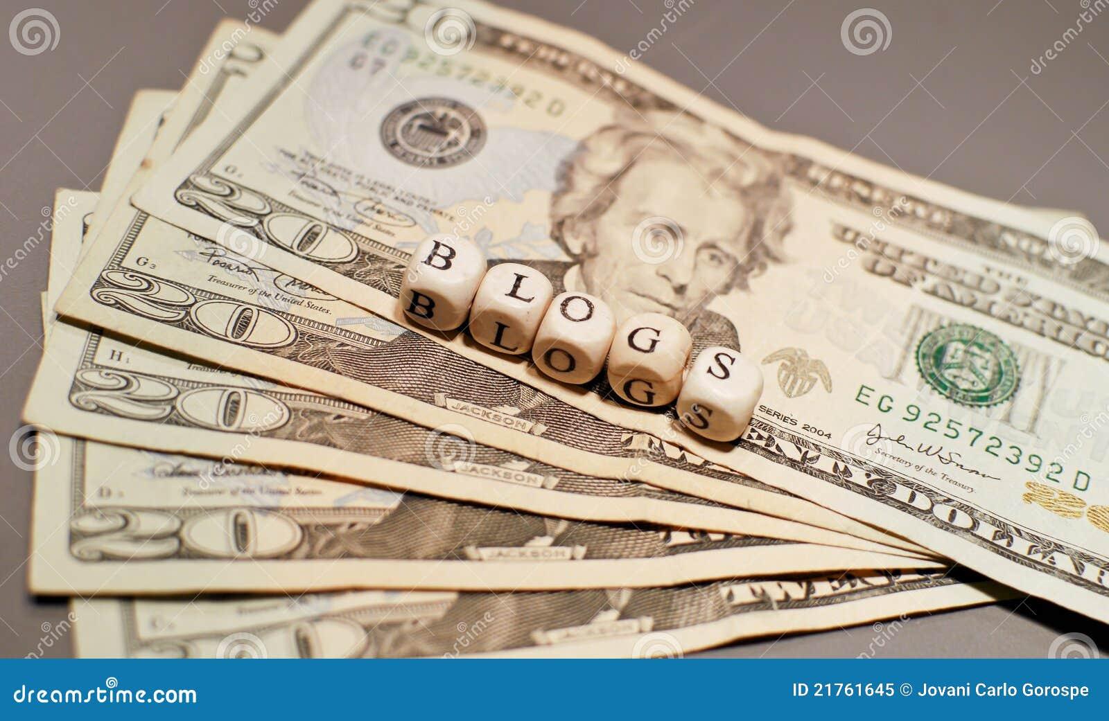 Betaald het worden aan Blog