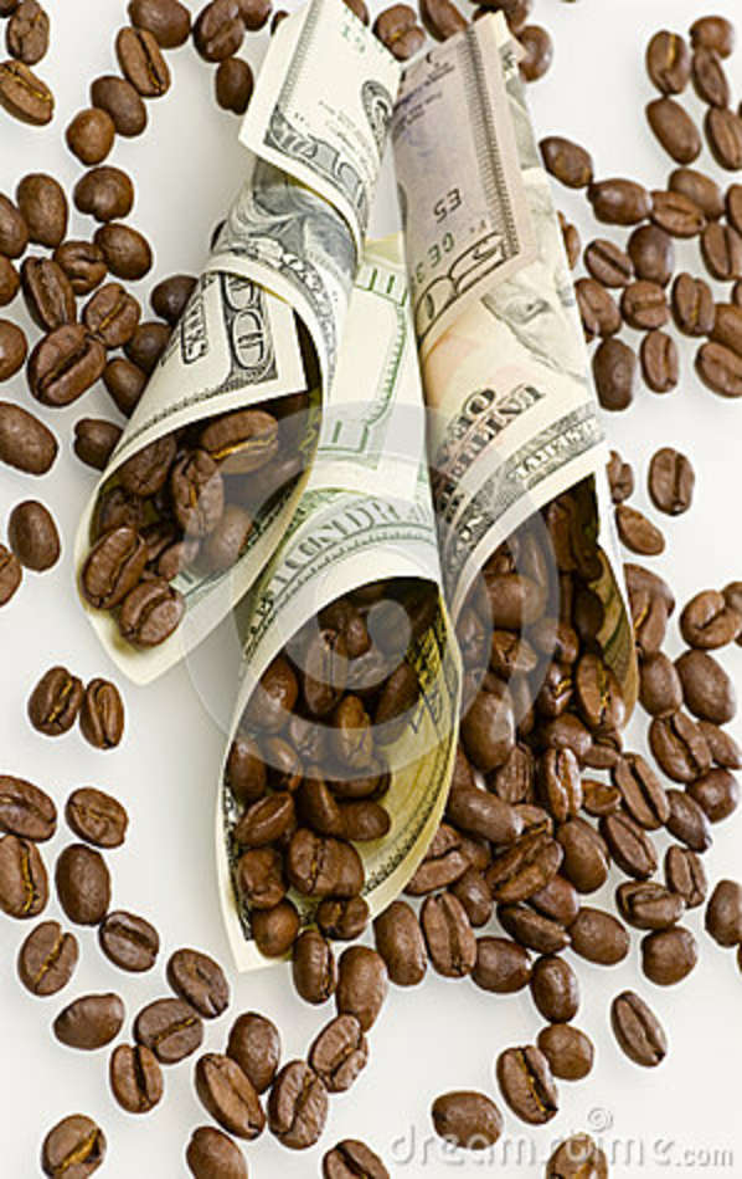 Betaald voor koffie