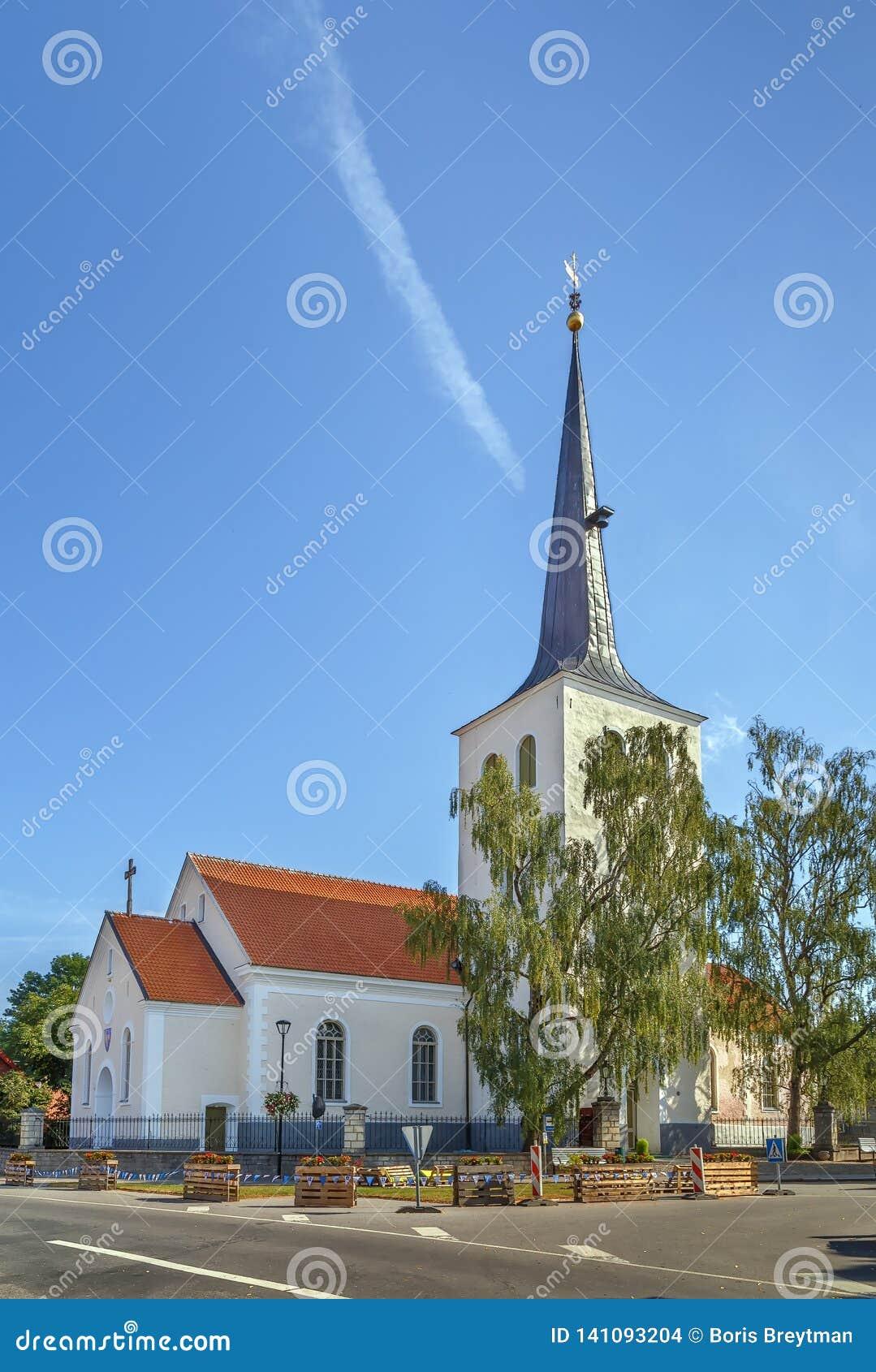 Betaalde Kerk, Estland
