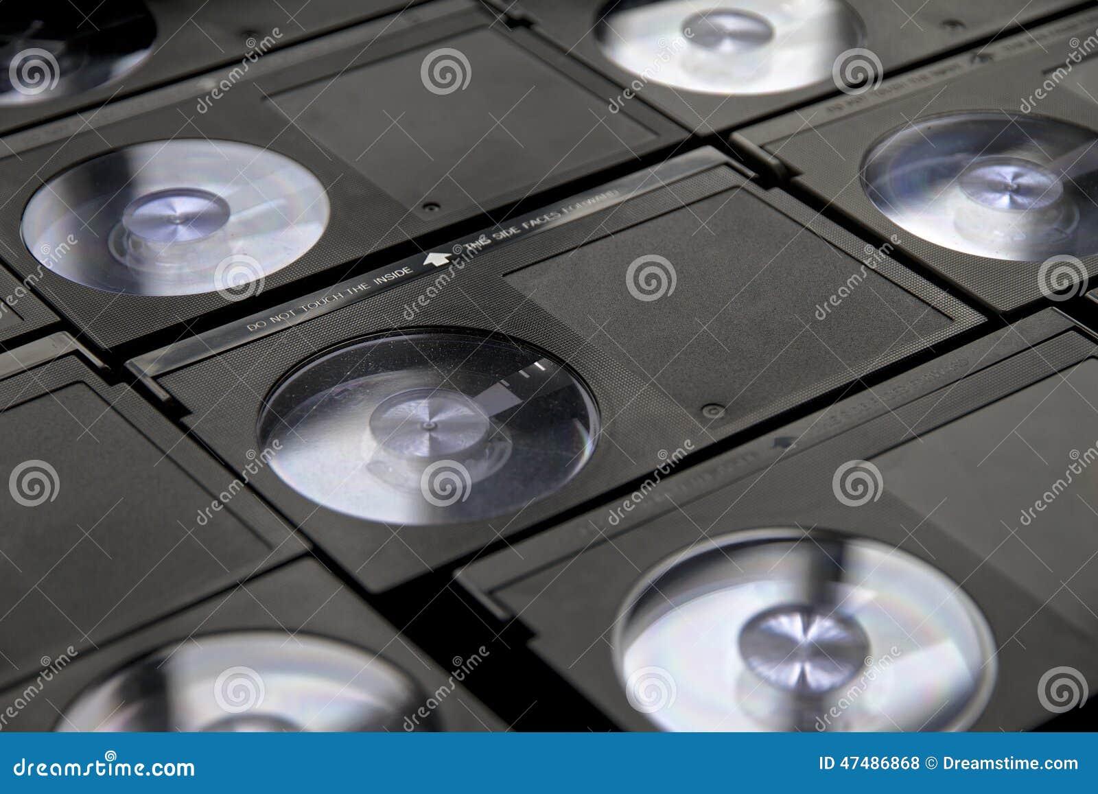 Betamax VCR tape cassettes