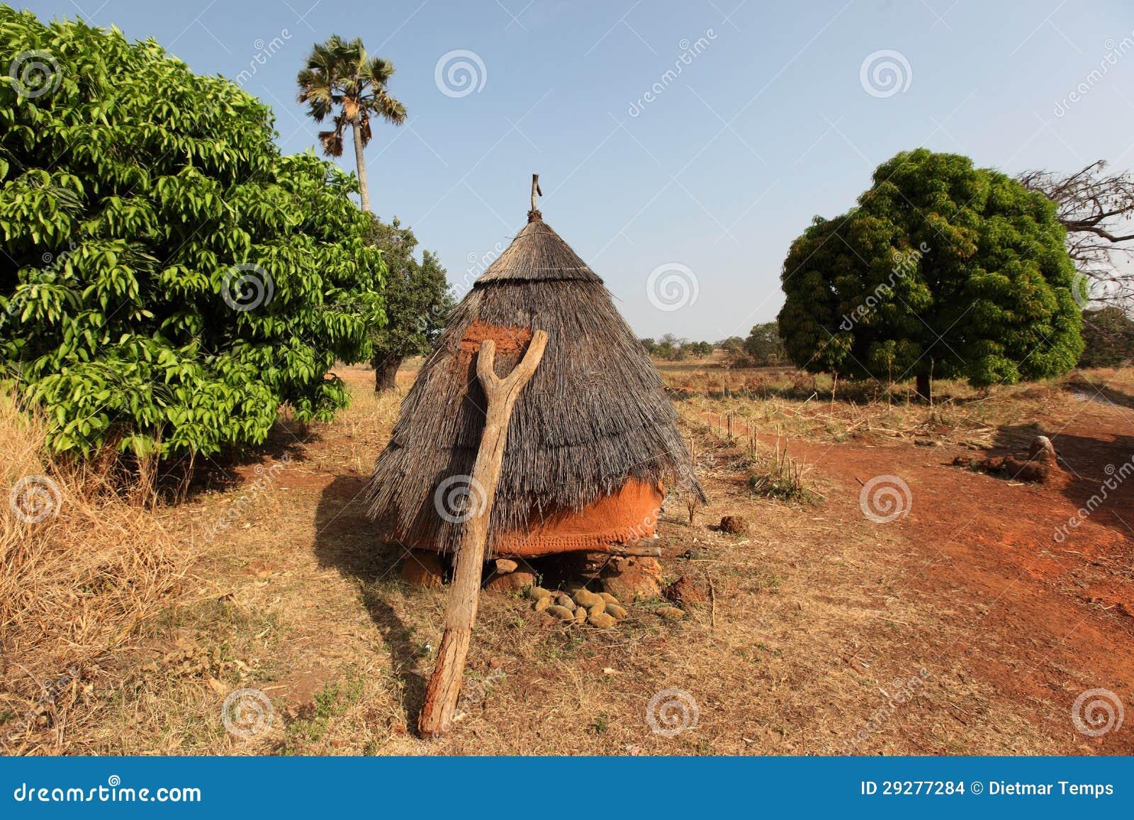 Betammaribe, graanschuur, Benin