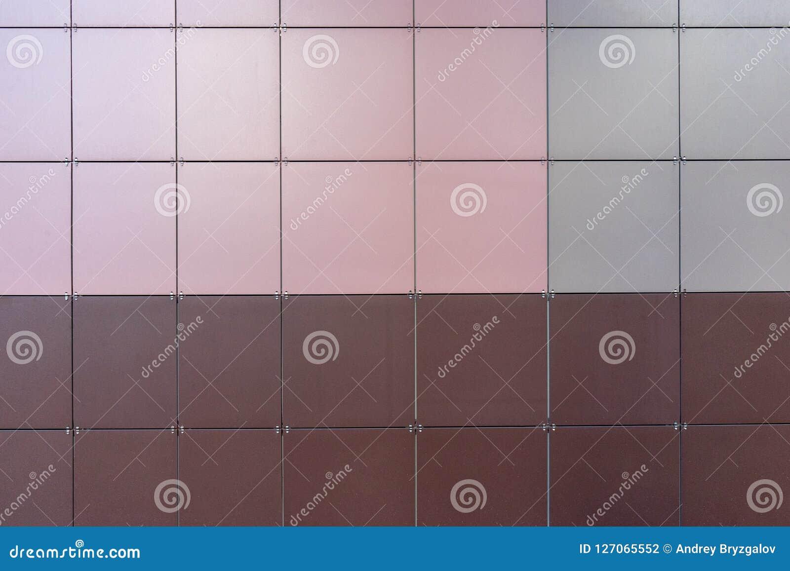 Betegelt de samengestelde panelen van het bekledingsaluminium, middelbehoud, materiaal voor isolatie van muren, moderne metaalvoo
