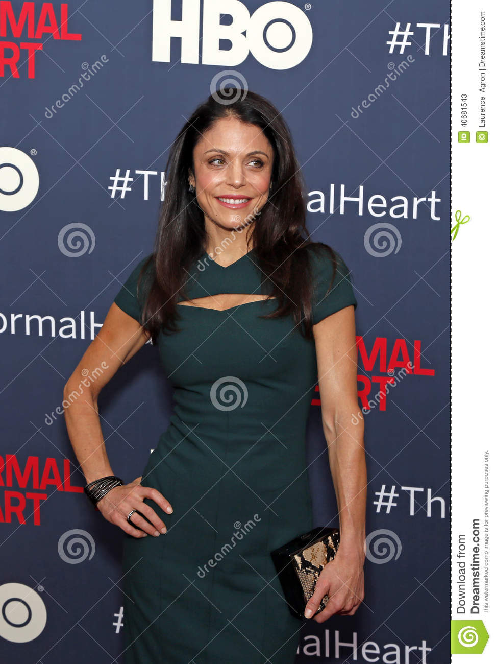 "cfb5b177cc Television personality and author Bethenny Frankel arrives on the red  carpet for the New York premiere of ""The Normal Heart"
