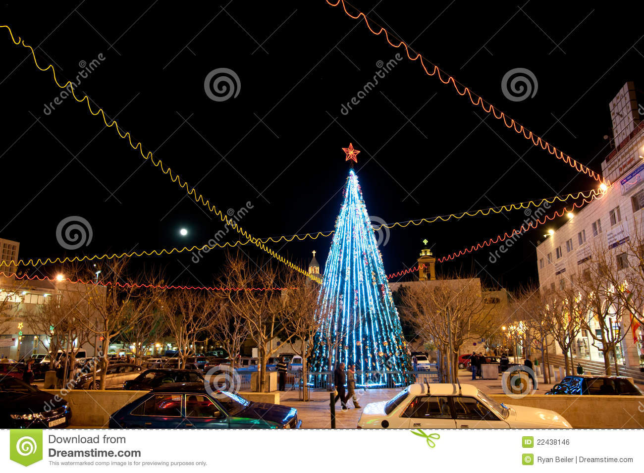 bethlehem lighting christmas trees. Bethlehem Lighting Christmas Trees