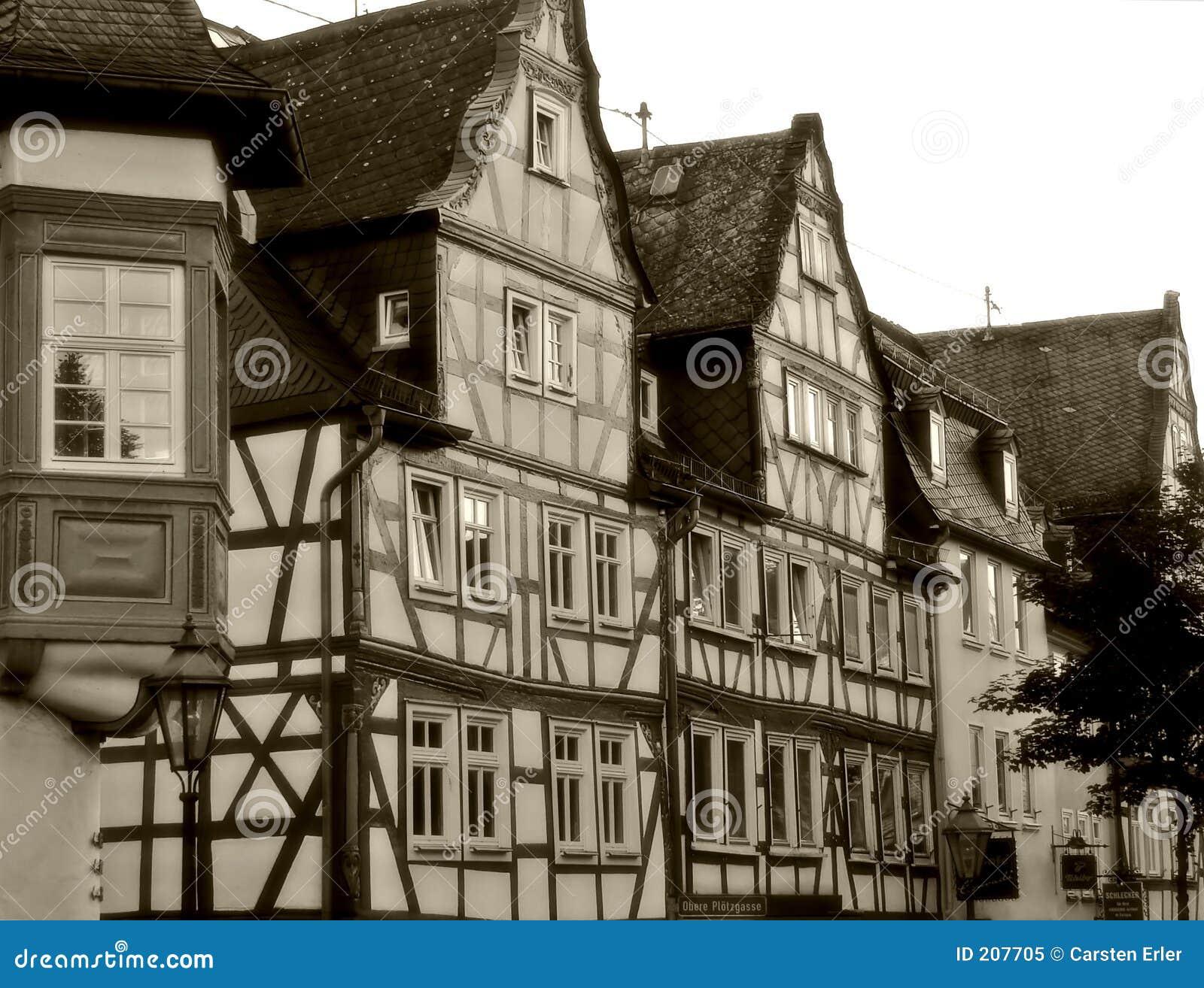Betimmerde huizen
