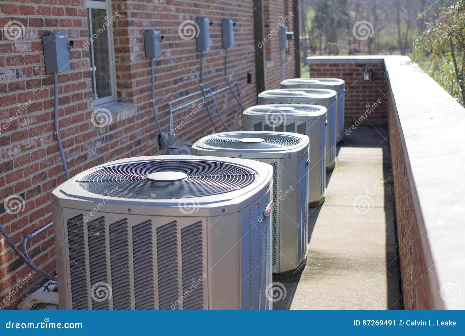 Betingande enheter för luft