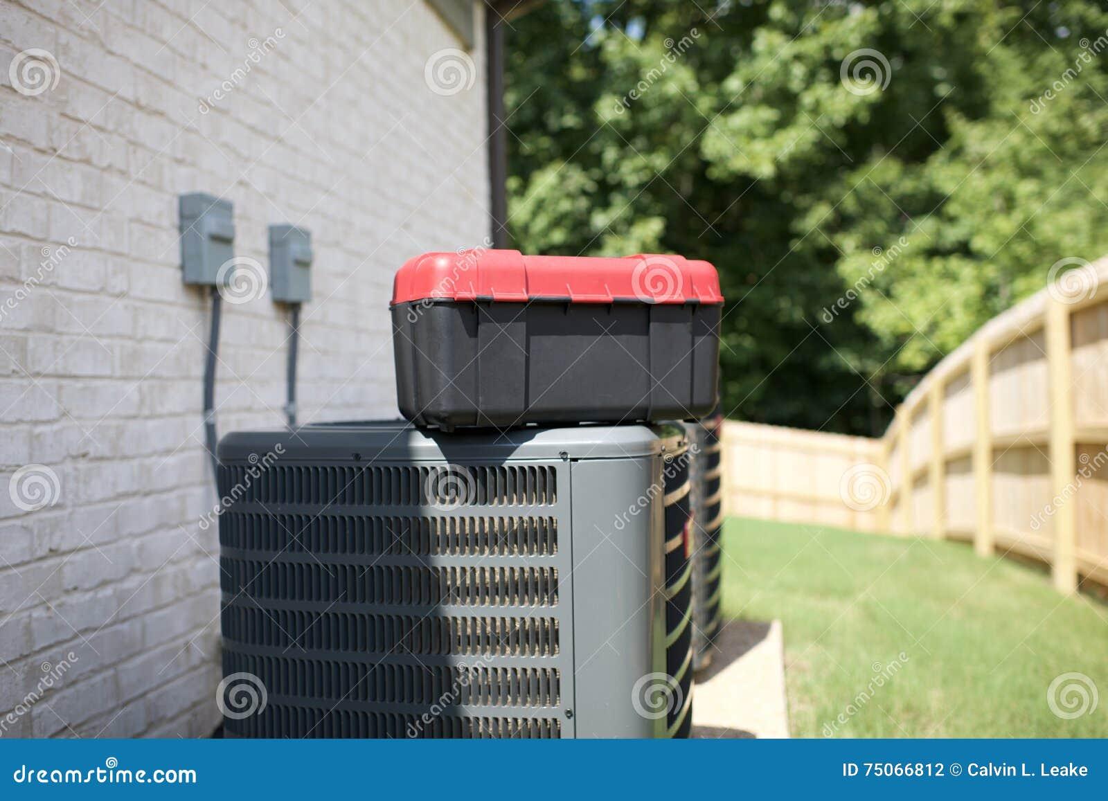 Betingande enheter för luft i behov av reparationen