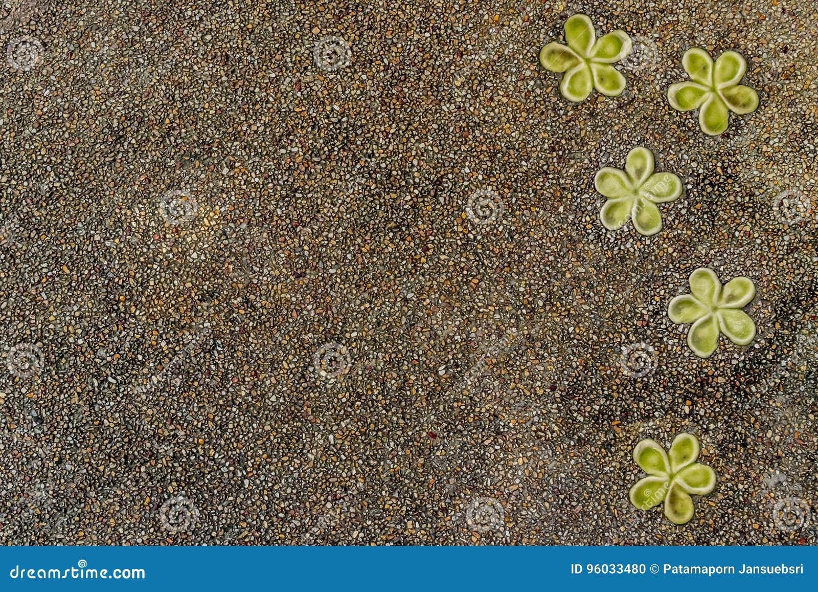 Beton z małą żwir teksturą