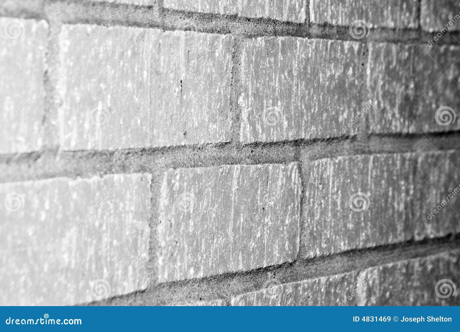 Betonblockwand
