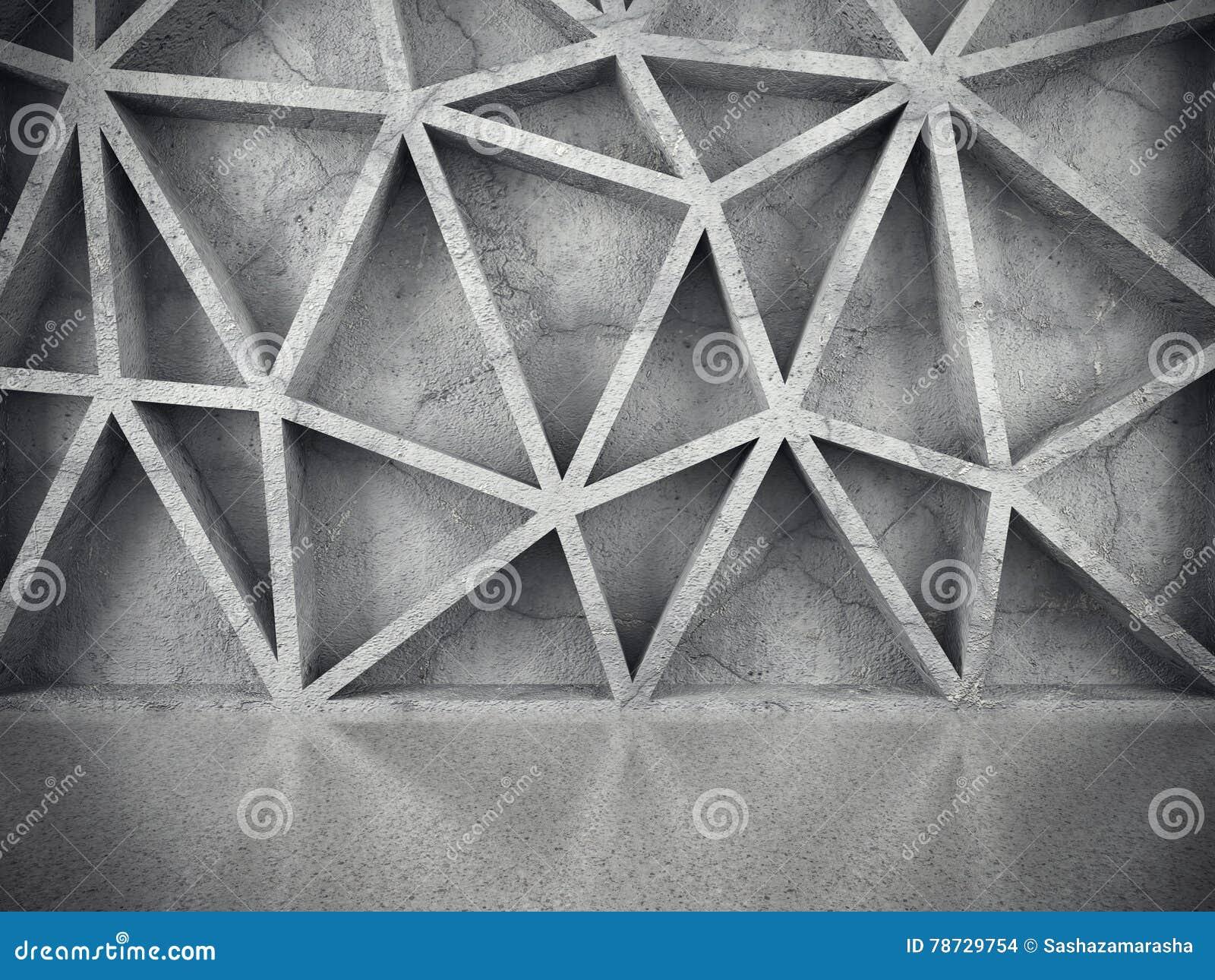 Betong texturerad kaotisk modellvägg teckning för blå kompass för arkitekturbakgrund djup över