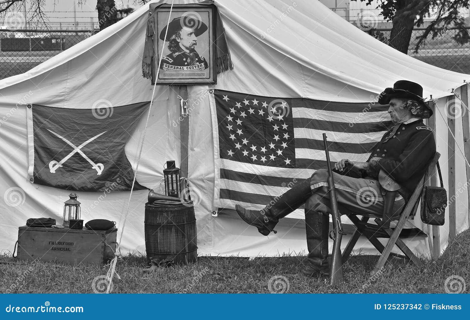 Beträffande-lag av George Armstrong Custer