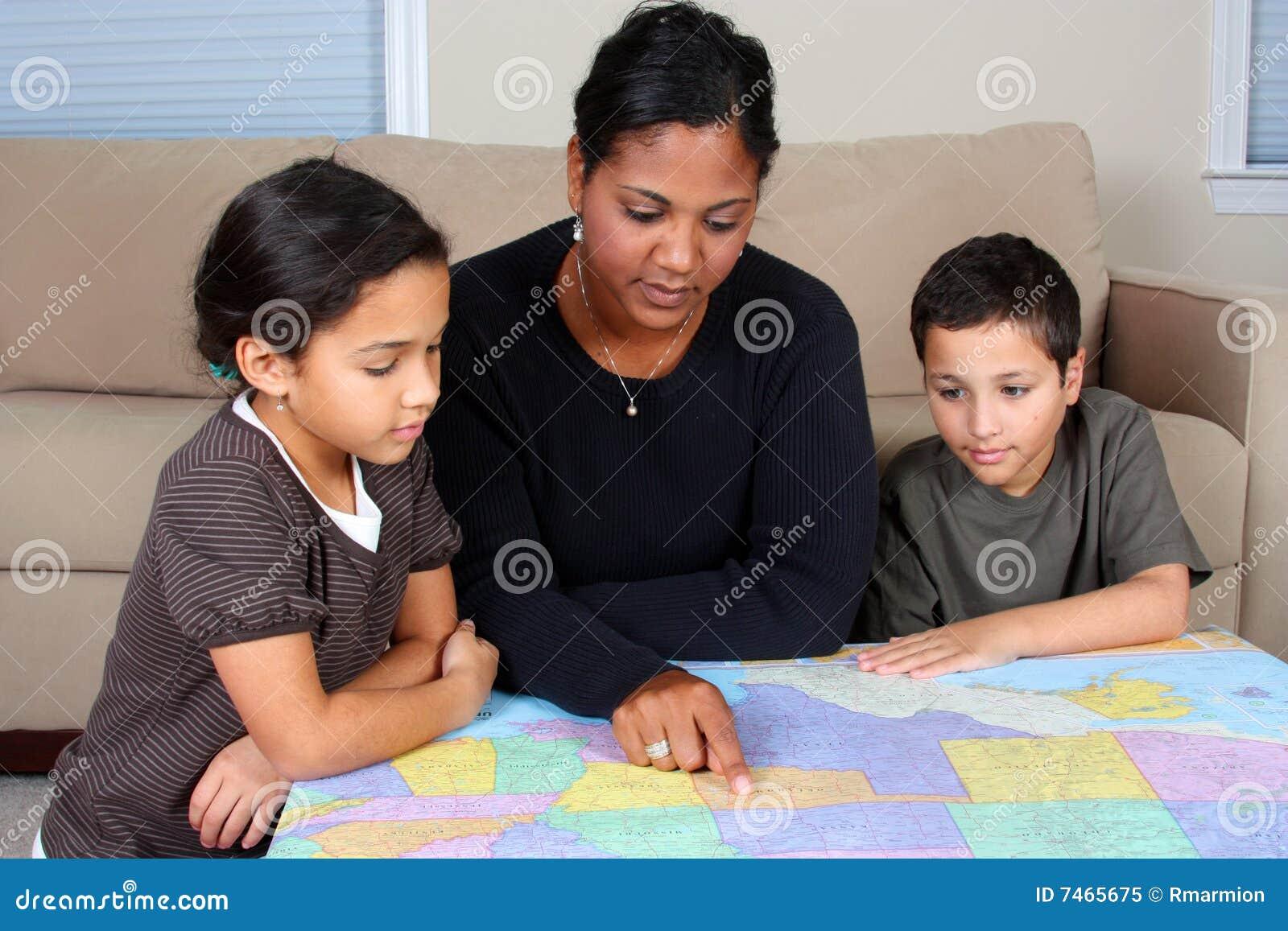 Betrachten der Karte