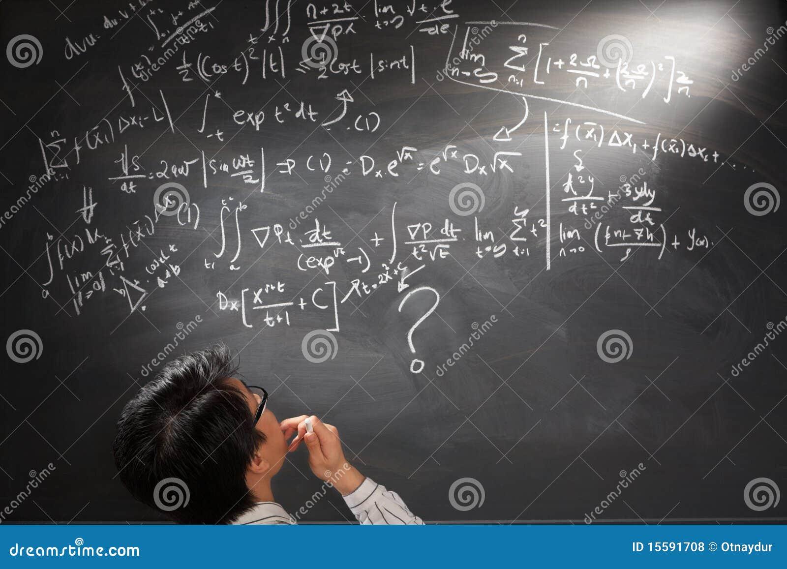 Betrachten der schwierigen komplizierten Gleichung