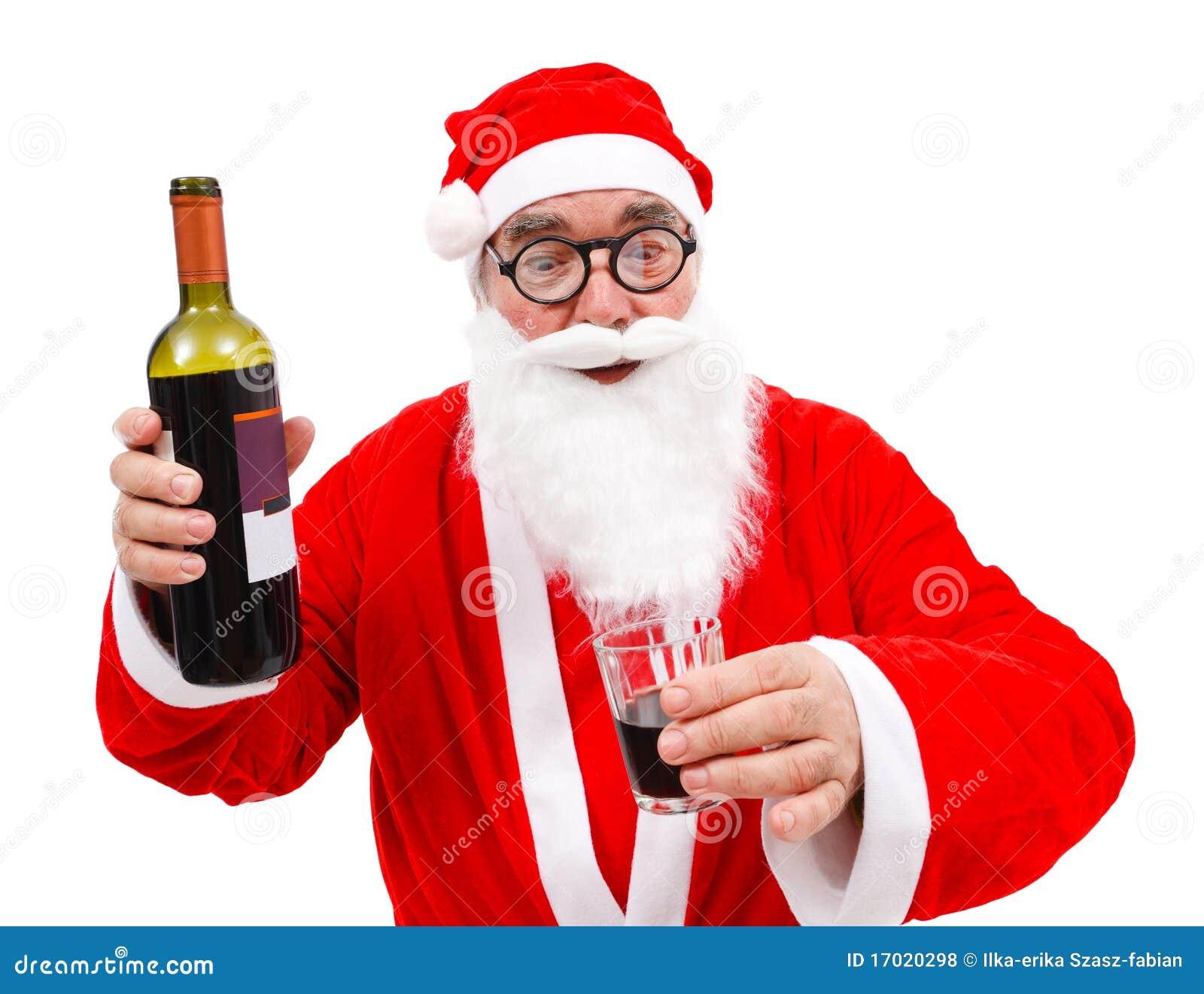 Weihnachtsgedicht betrunkener weihnachtsmann
