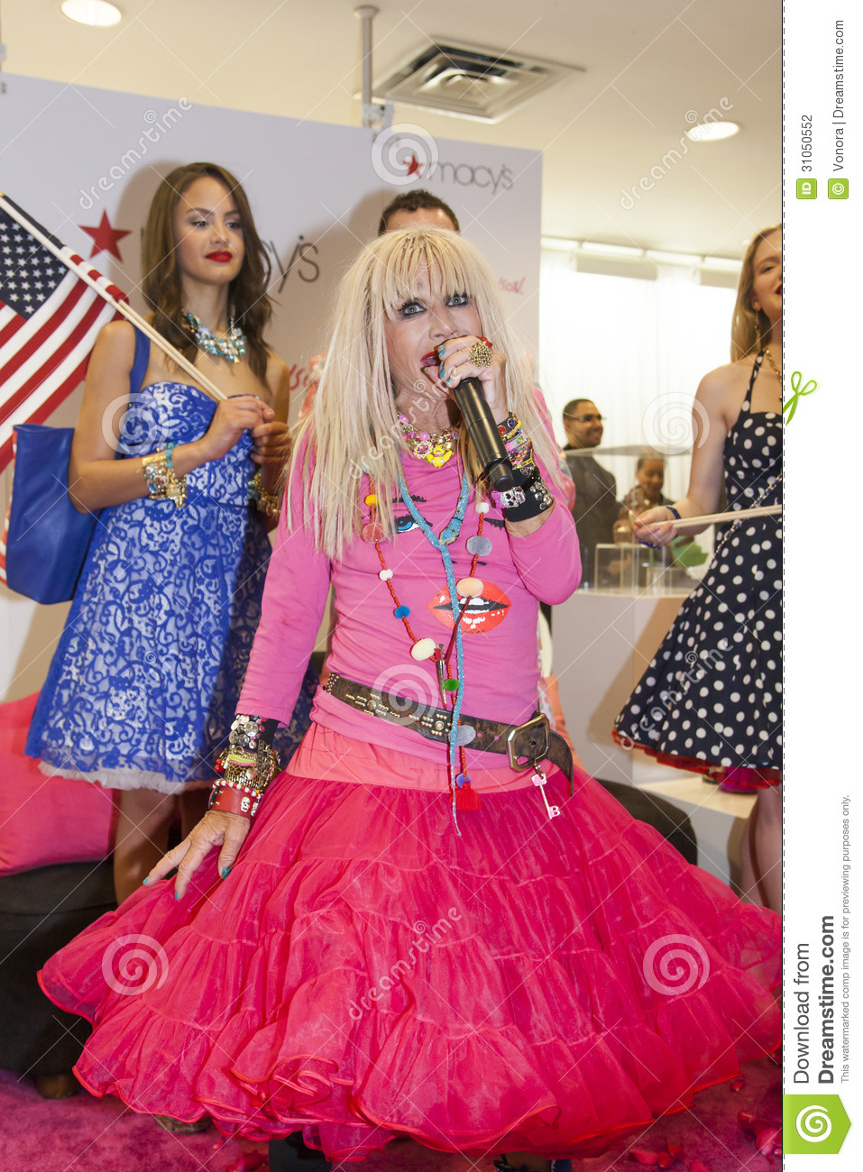 Betsey johnson editorial photography image of pink for Nyu tisch fashion design