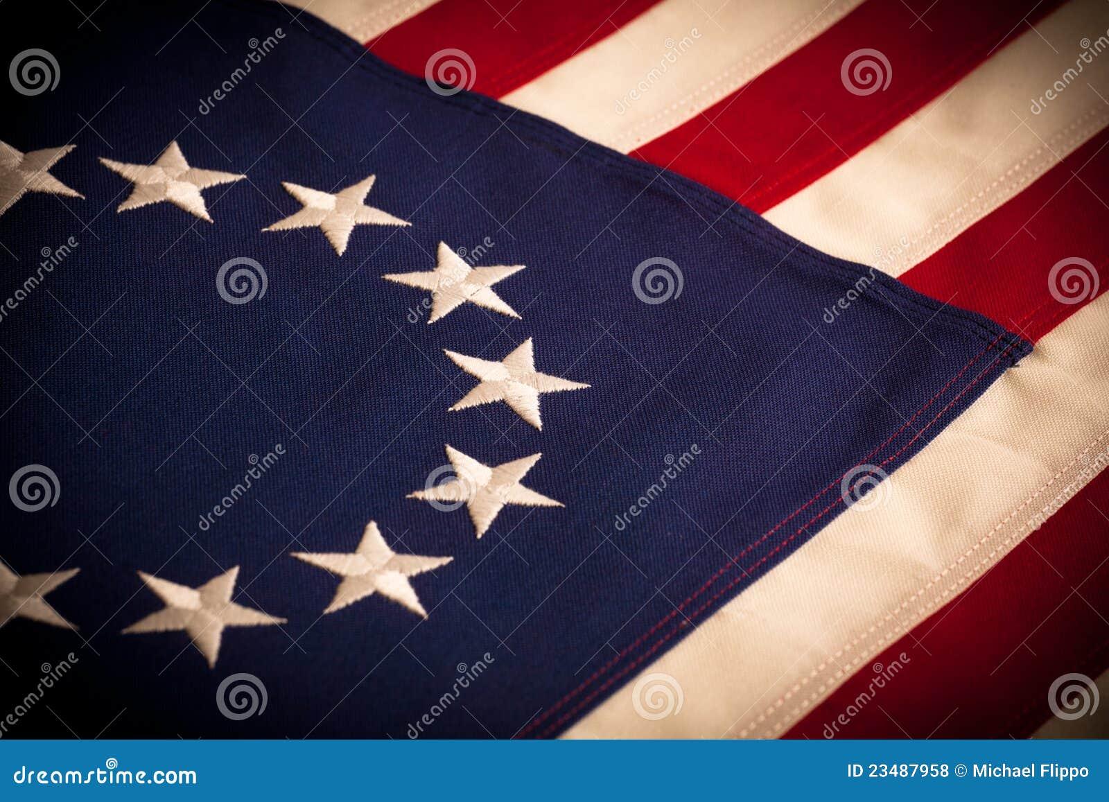 4b50338560c0 Betsy Ross - 13 Star American Flag Stock Photo - Image of americana ...