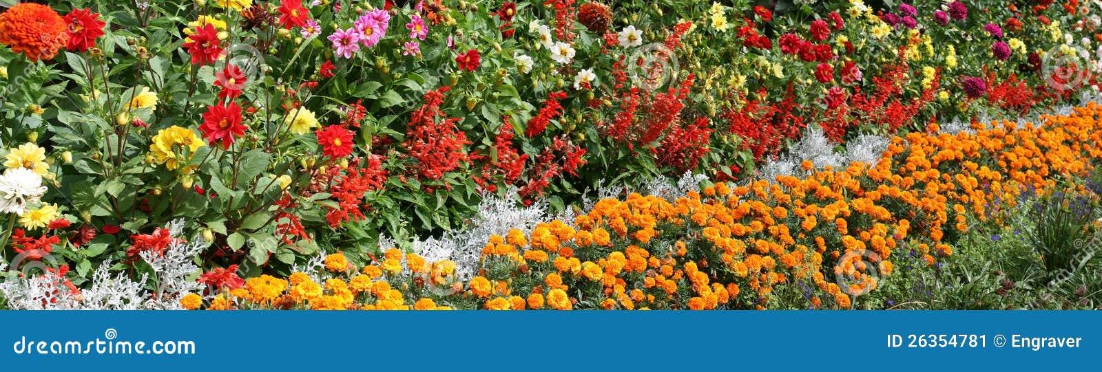 Bett der Blumen