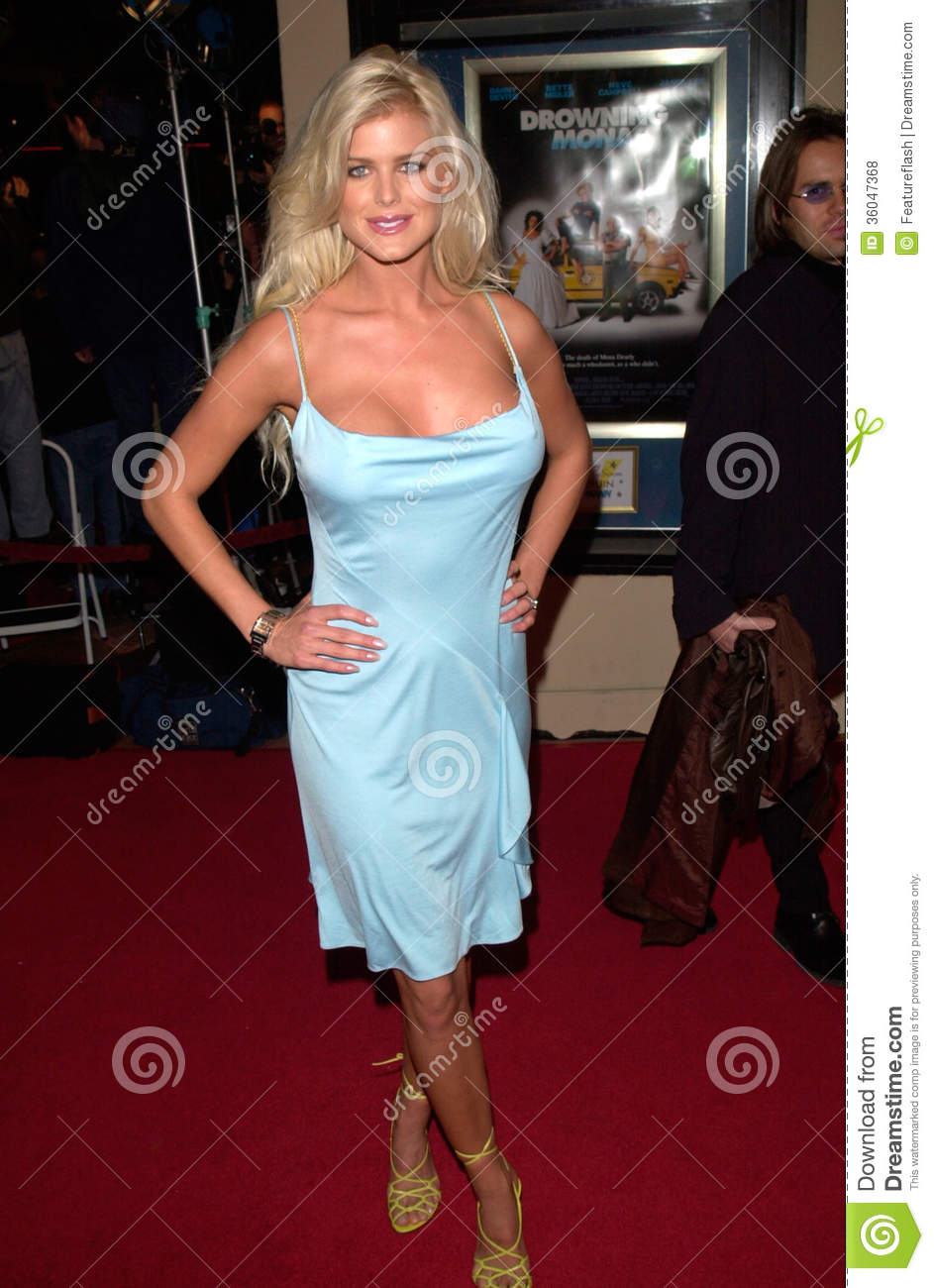 Victoria Silvstedt editorial stock photo  Image of mona