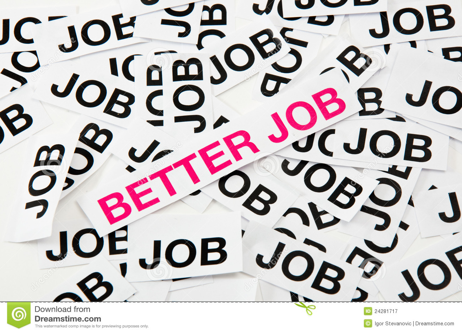 better job royalty stock photography image 24281717 better job