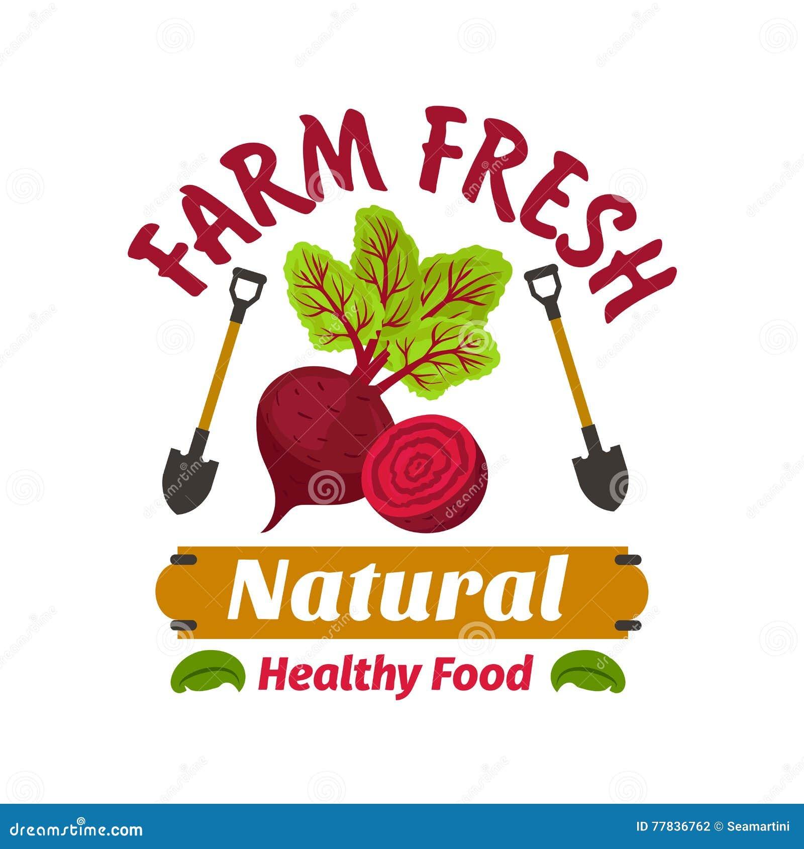Betterave Produit à base de légumes frais de vegan de ferme