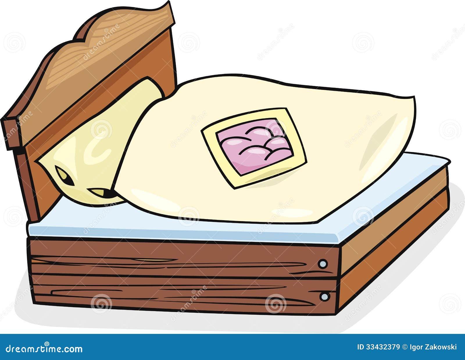 Bettm 246 Bel Karikaturillustration Lizenzfreie Stockbilder
