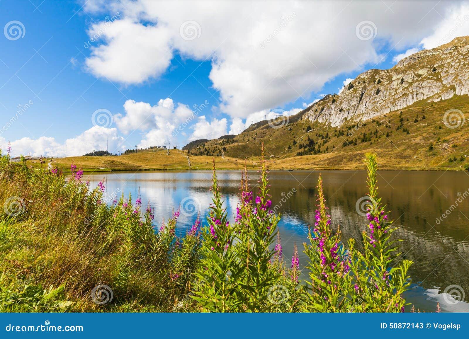 Bettmersee (Lake) in Valais