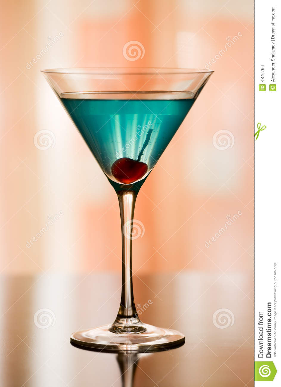 Betty Blue Cocktail
