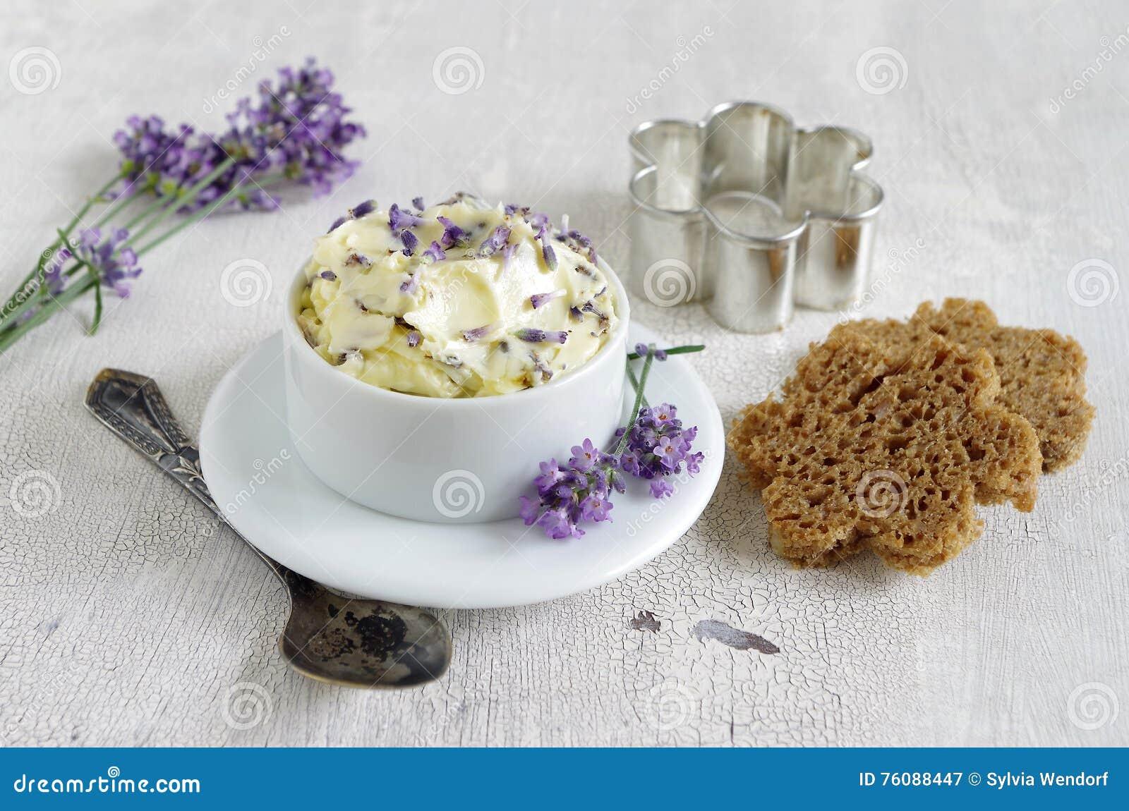 Beurre de lavande