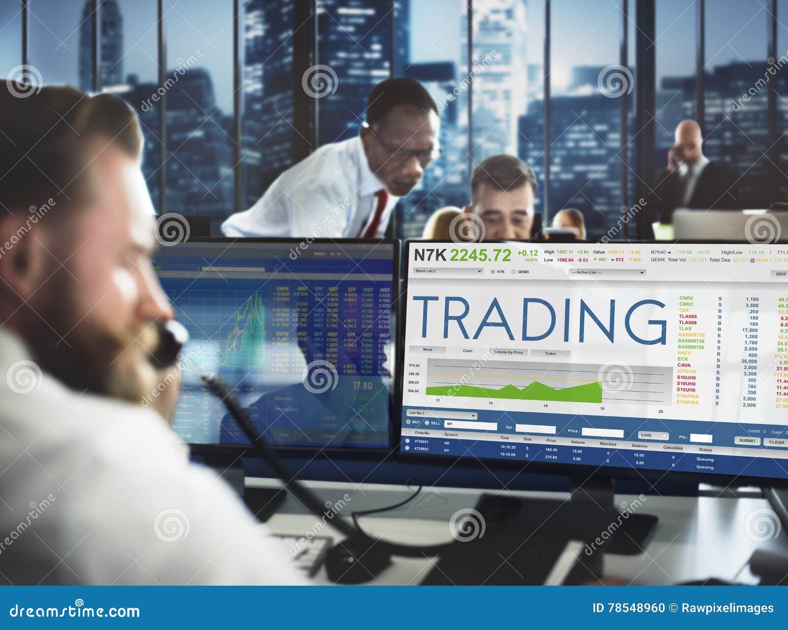 Beurs Handelforex Financiën Grafisch Concept
