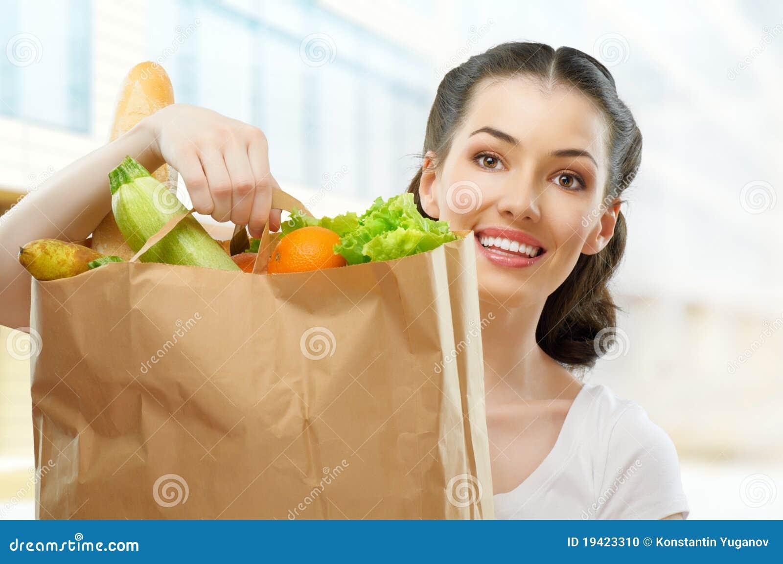 Beutel der Nahrung