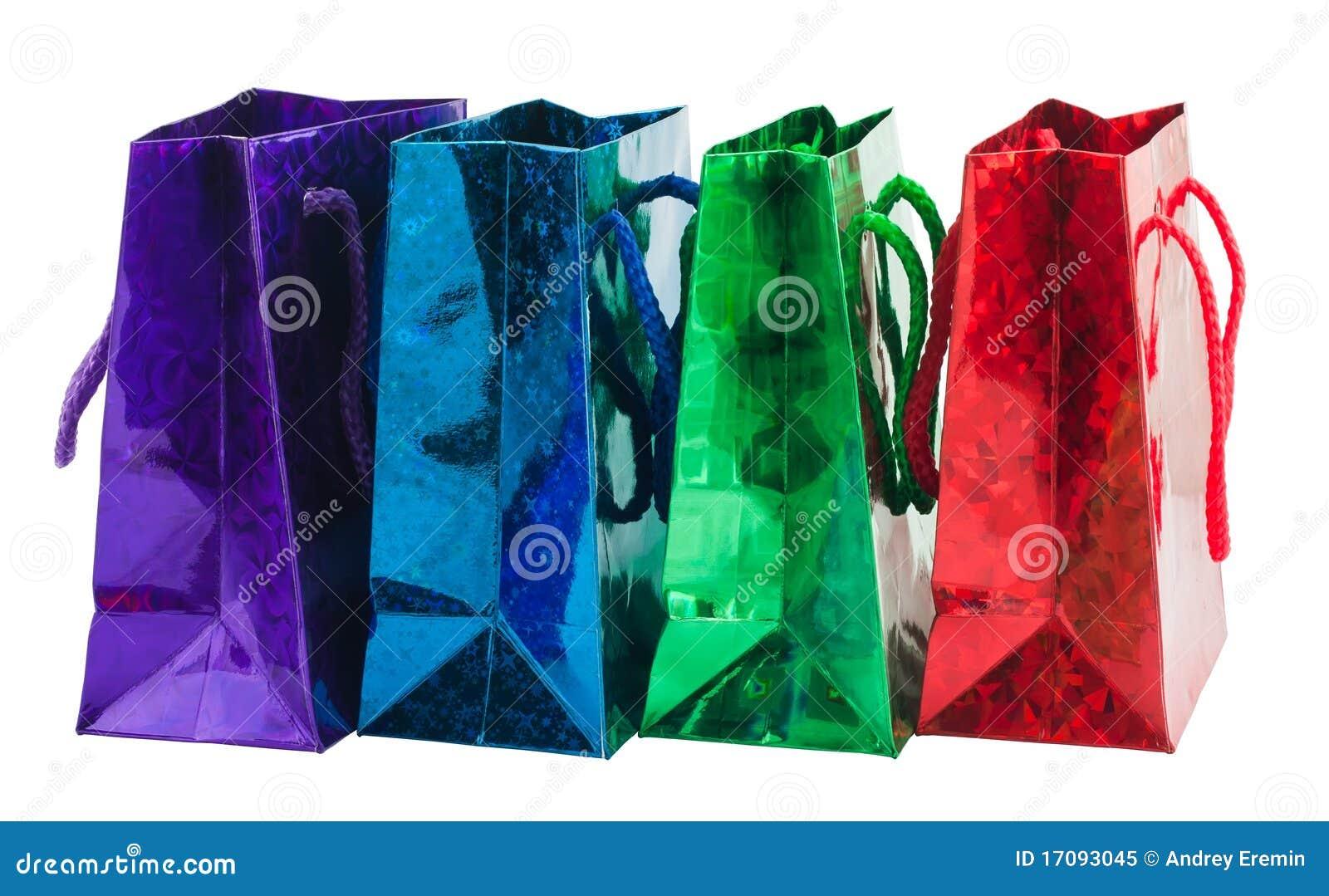 Beutel mit vier Geschenken