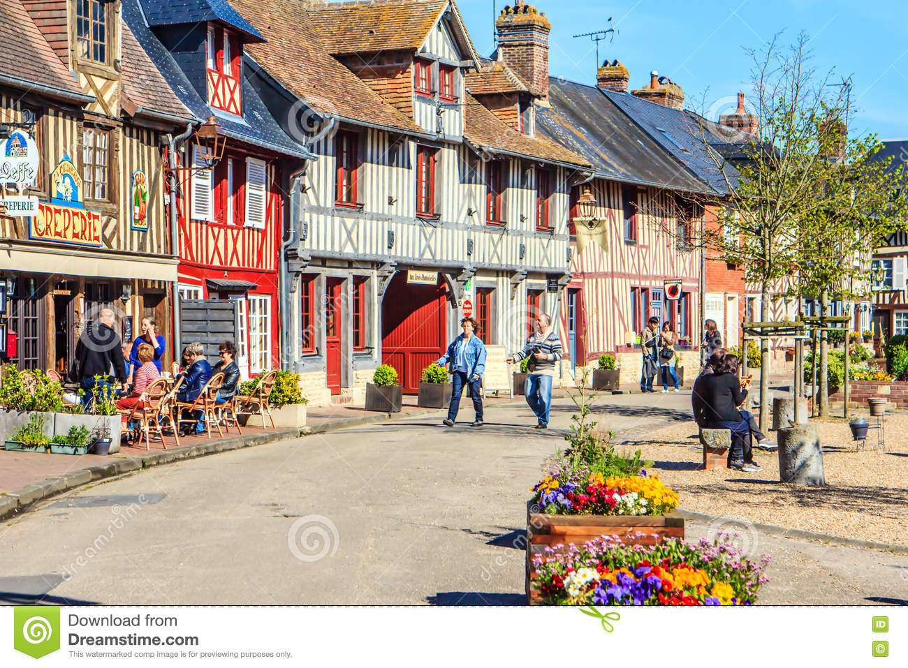 Beuvron En Auge Calvados Normandy France Editorial Photography Image Of Normandy France 74057042