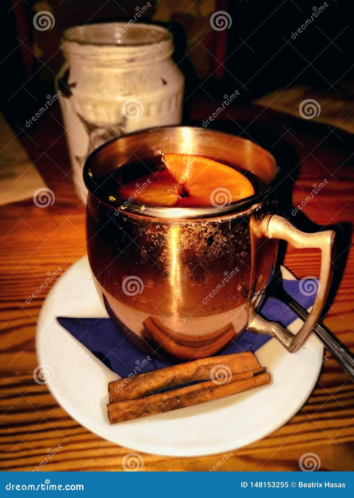 Bevanda calda in una notte fredda