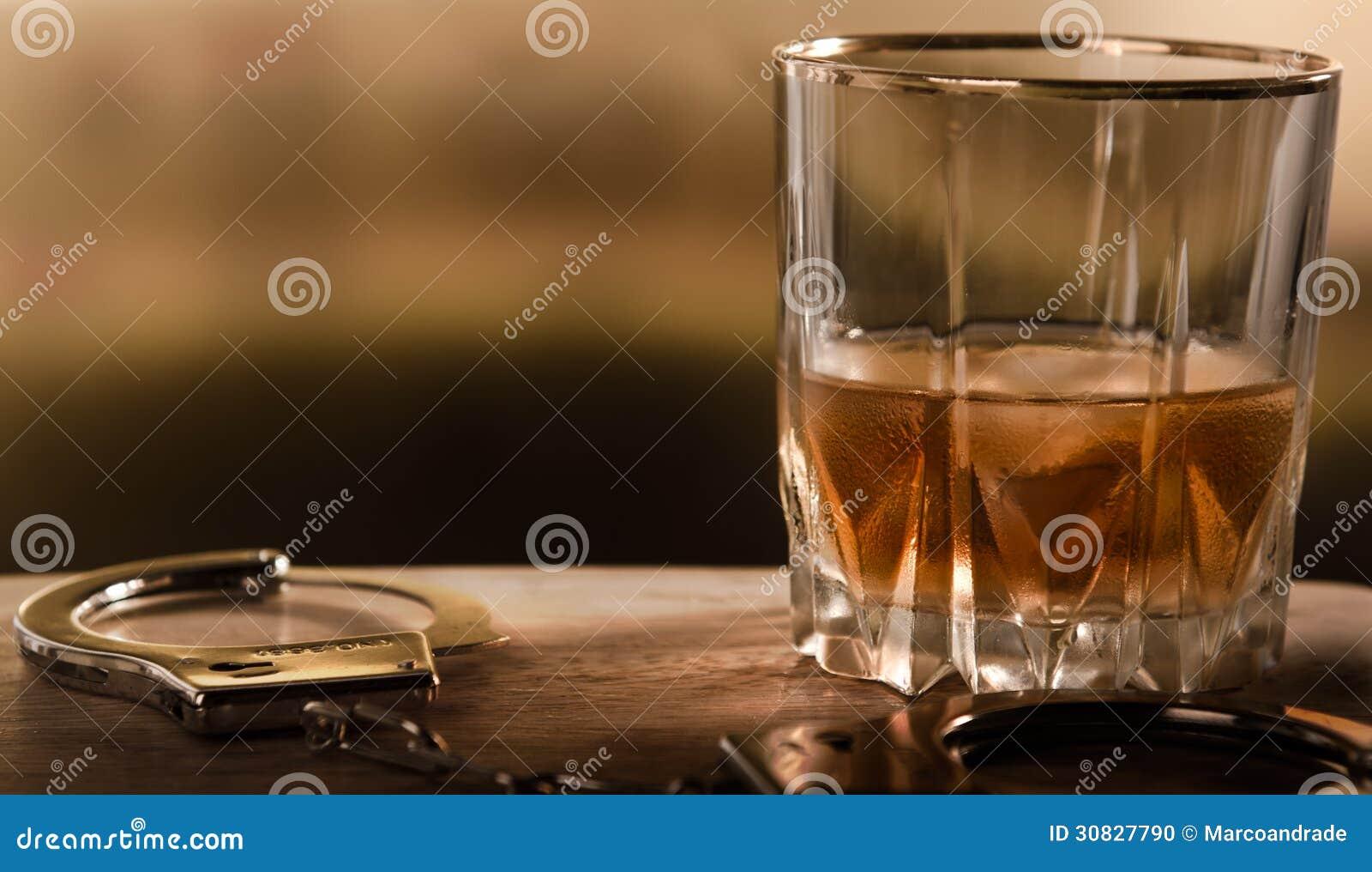 Bevanda con le manette