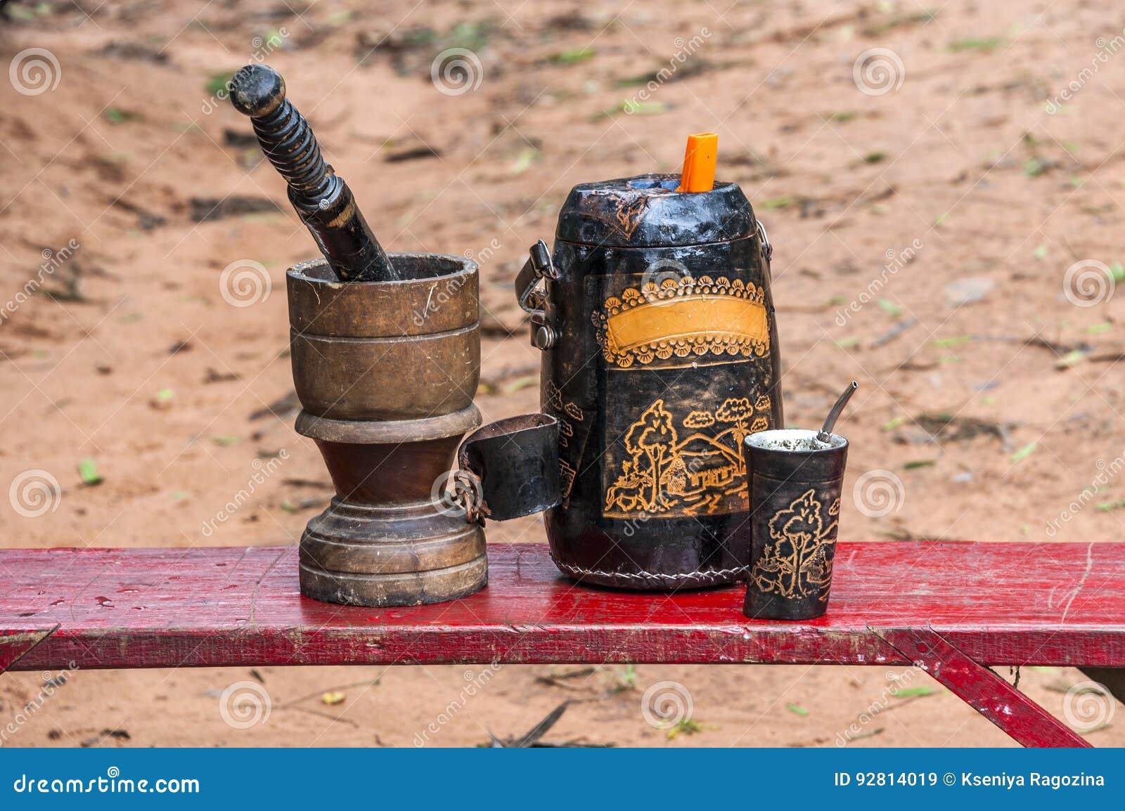 Bevanda del Terere-compagno dal Paraguay
