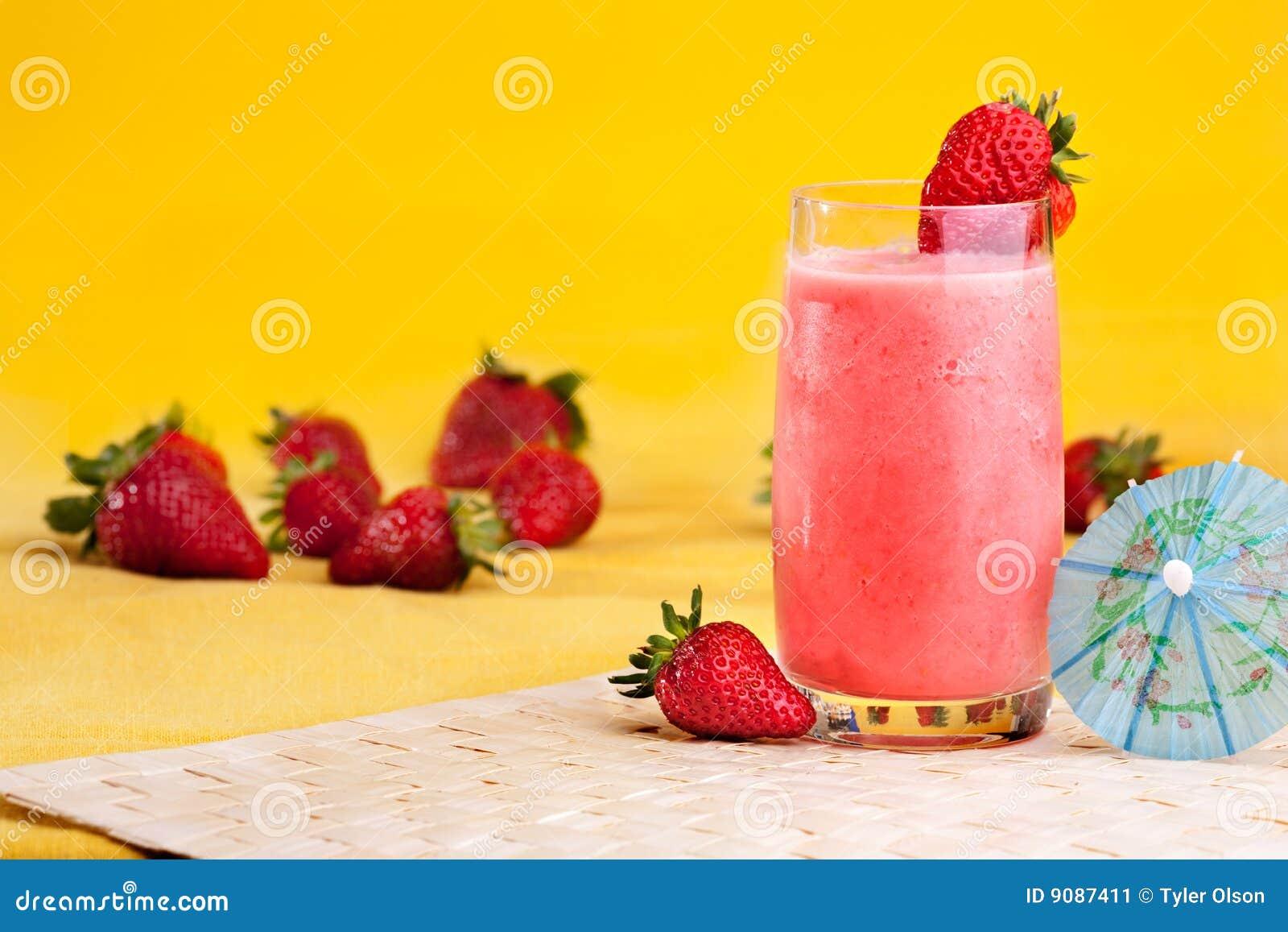Bevanda di estate della fragola
