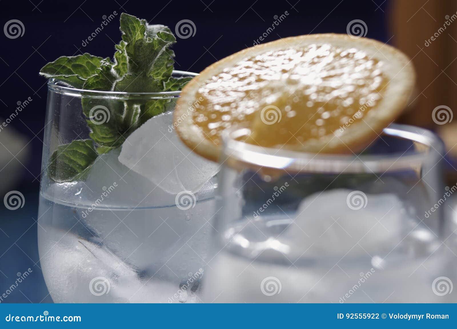 Bevande di rinfresco con ghiaccio