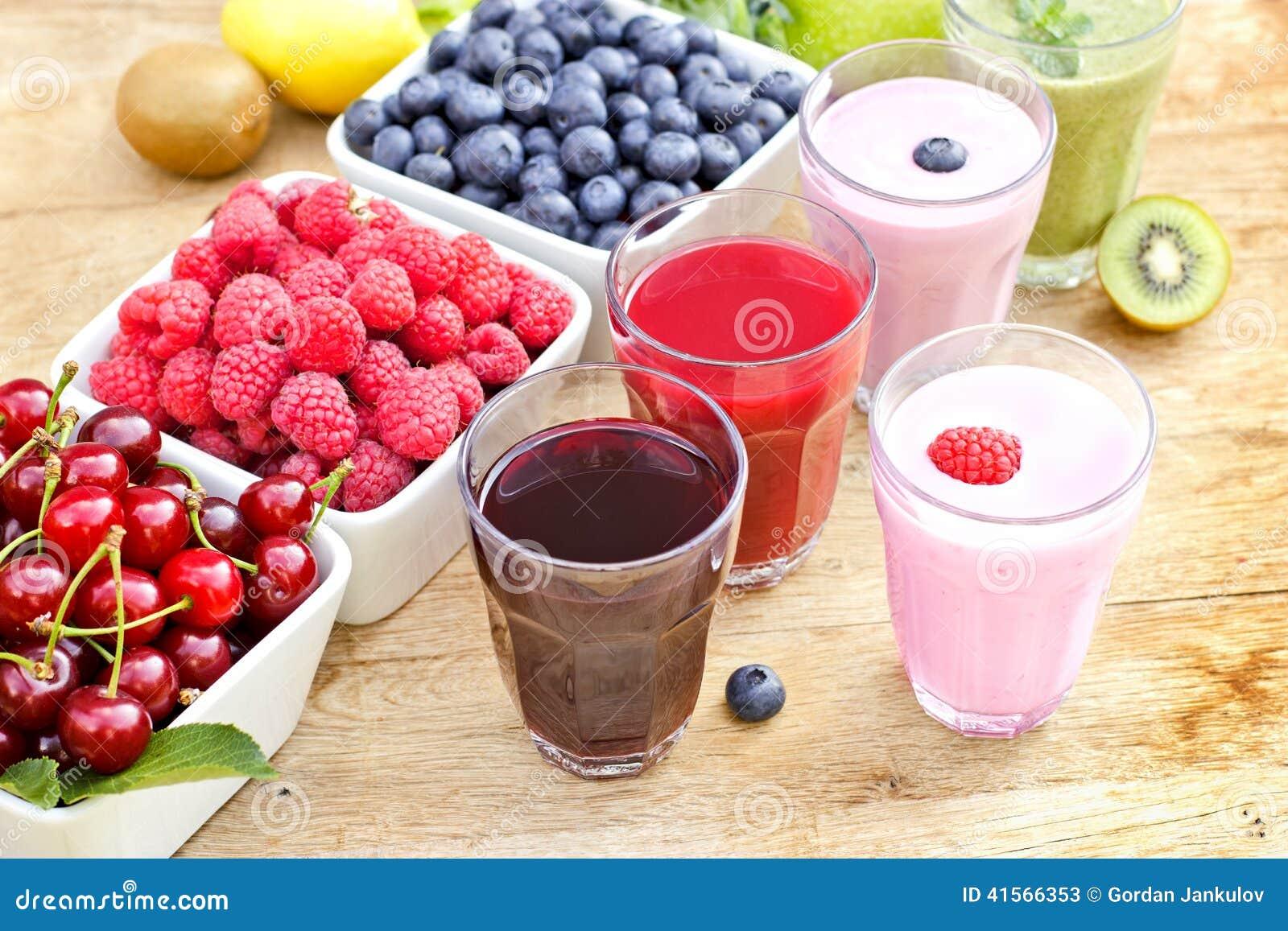 Bevande organiche appene preparato