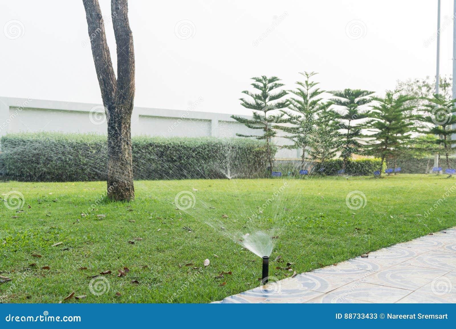 Bevattna för lawn