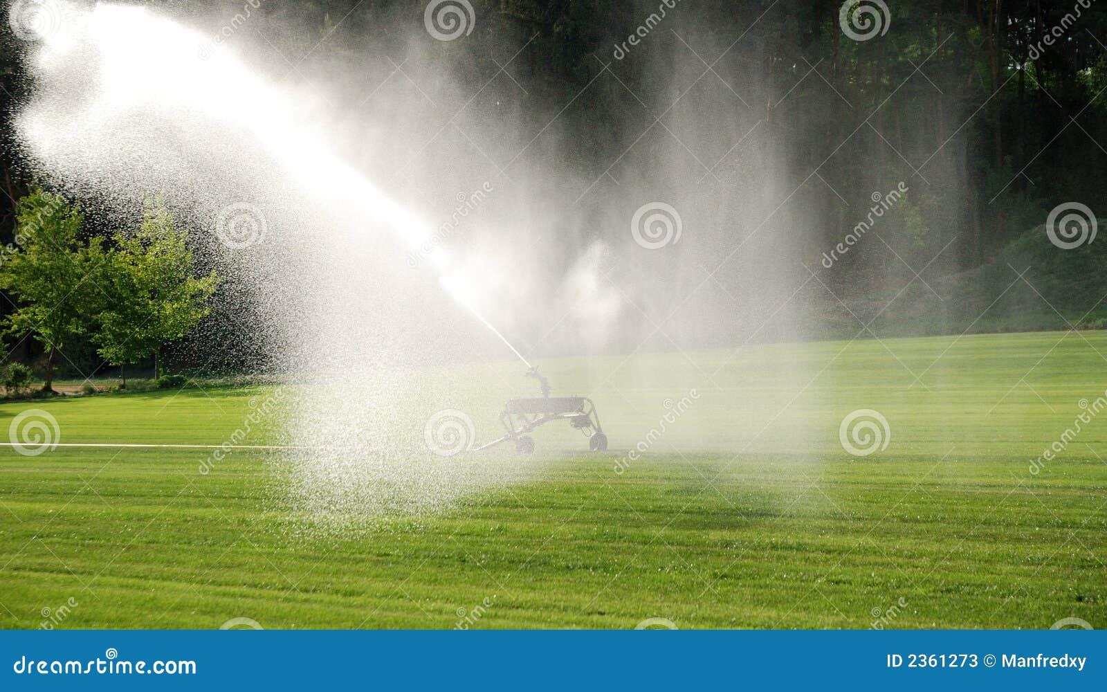 Bevattna lawn