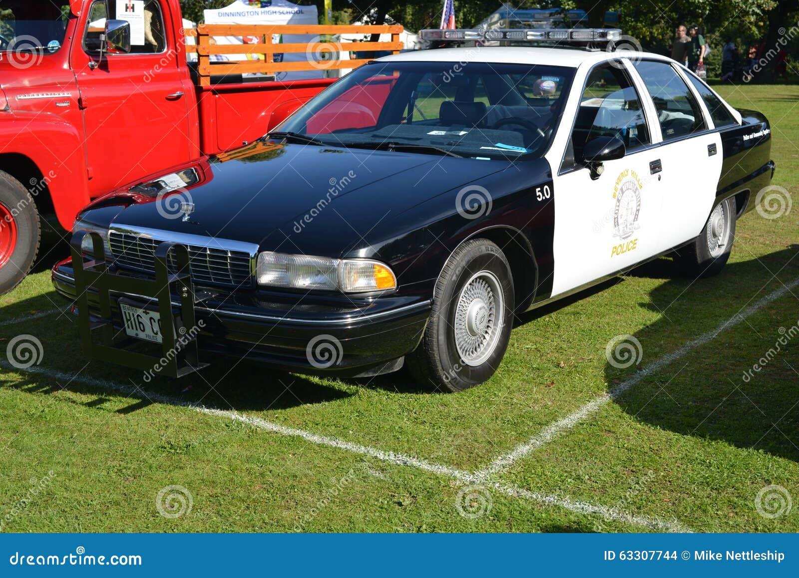 Beverly Hills Chevrolet polisbil