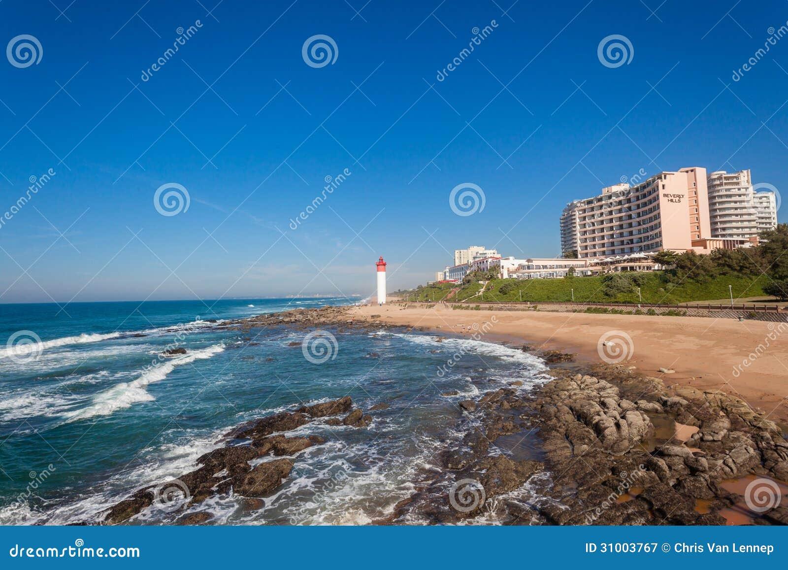 Beverly Hills Hotel Beach Lighthouse Beach Editorial
