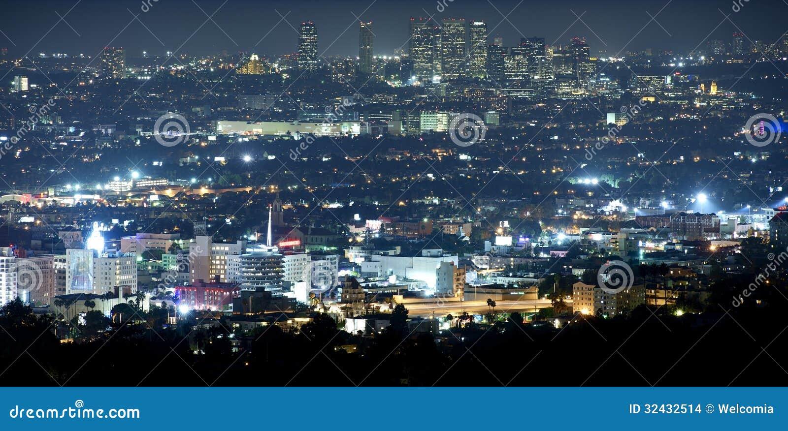 Beverly Hills på natten