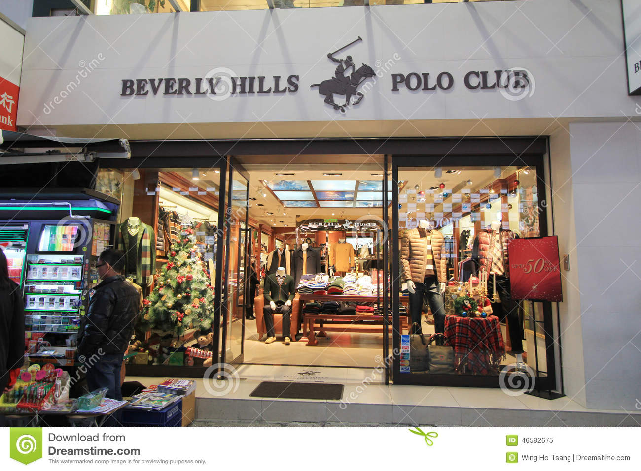 Beverly Hills Polo Club Shop In Hong Kong Editorial Image