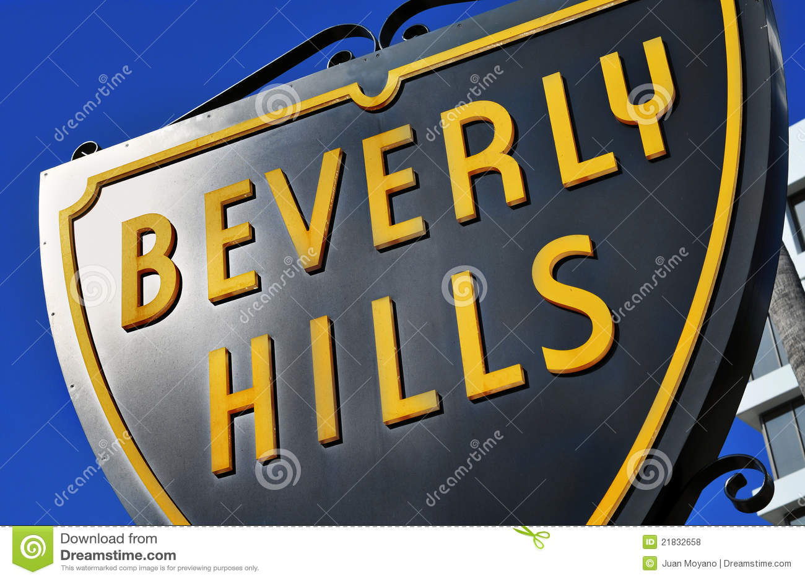 Beverly Hills tecken