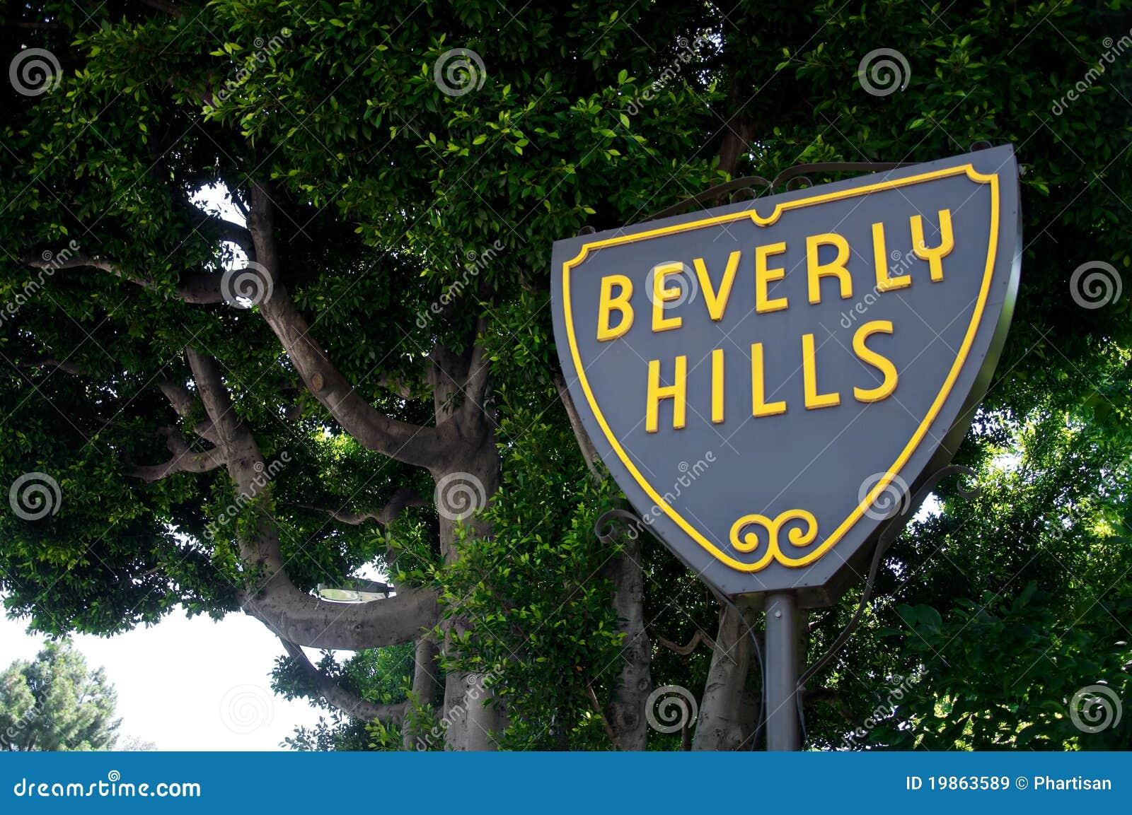 Beverly- Hillszeichen