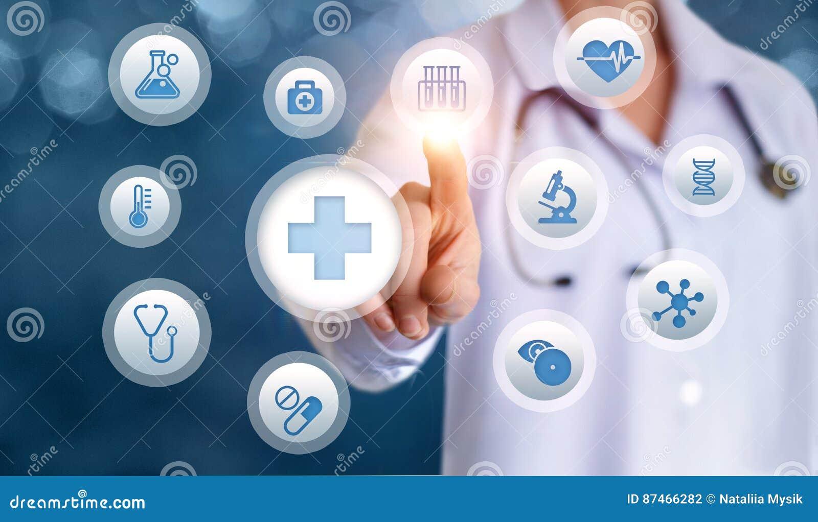 Bevestigingstests van de patiënt