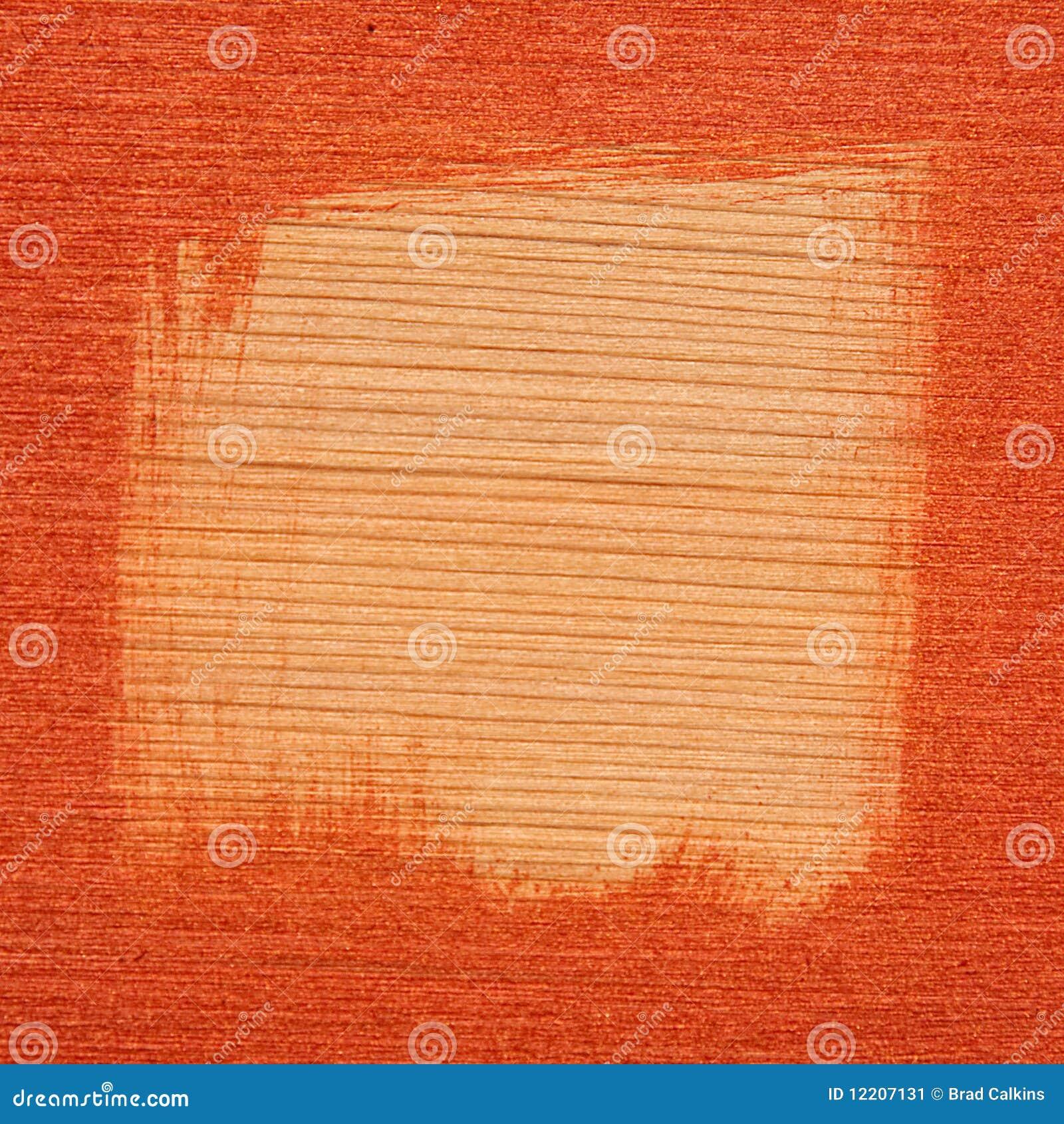 Bevlekt houten frame