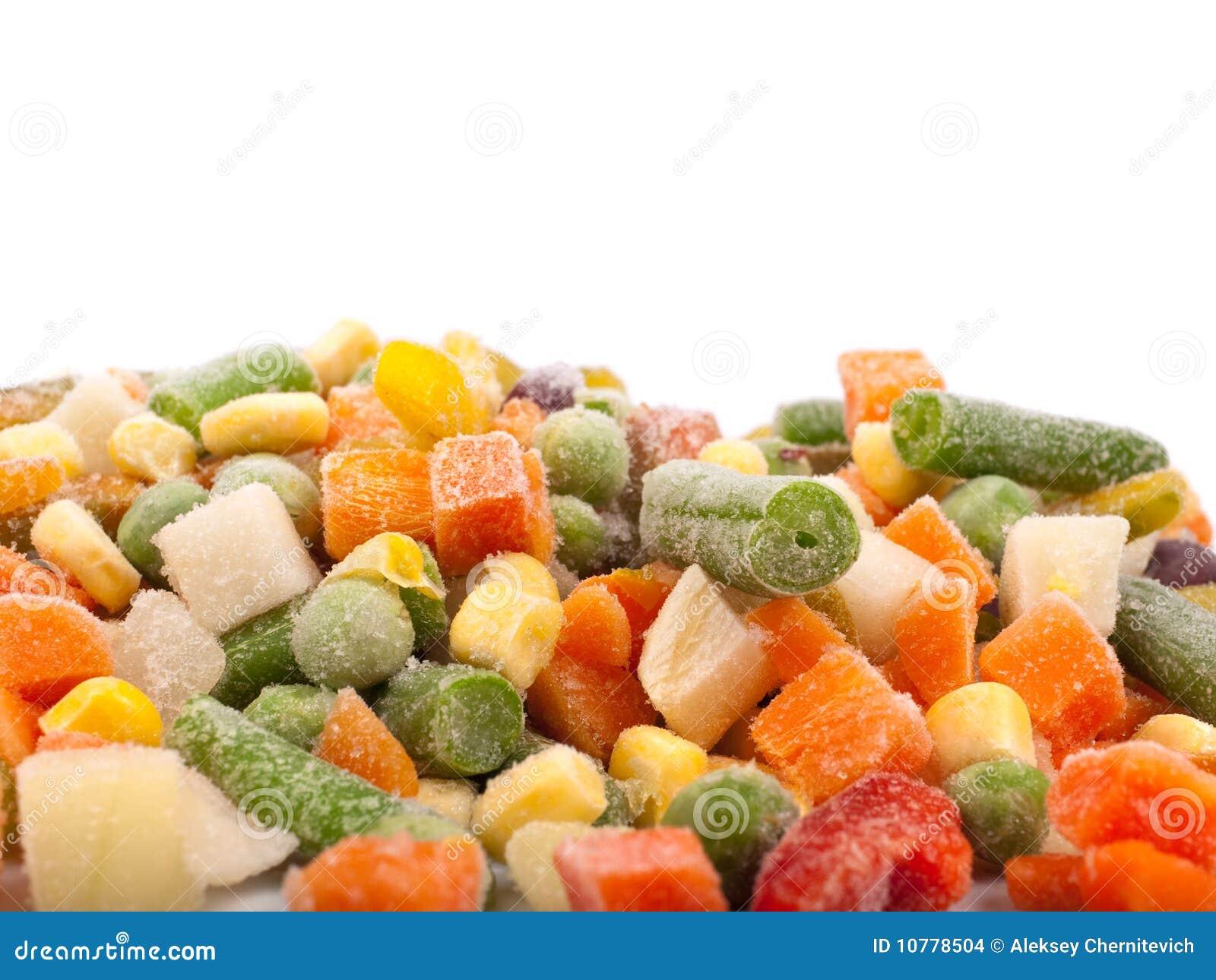 Bevroren diverse groenten