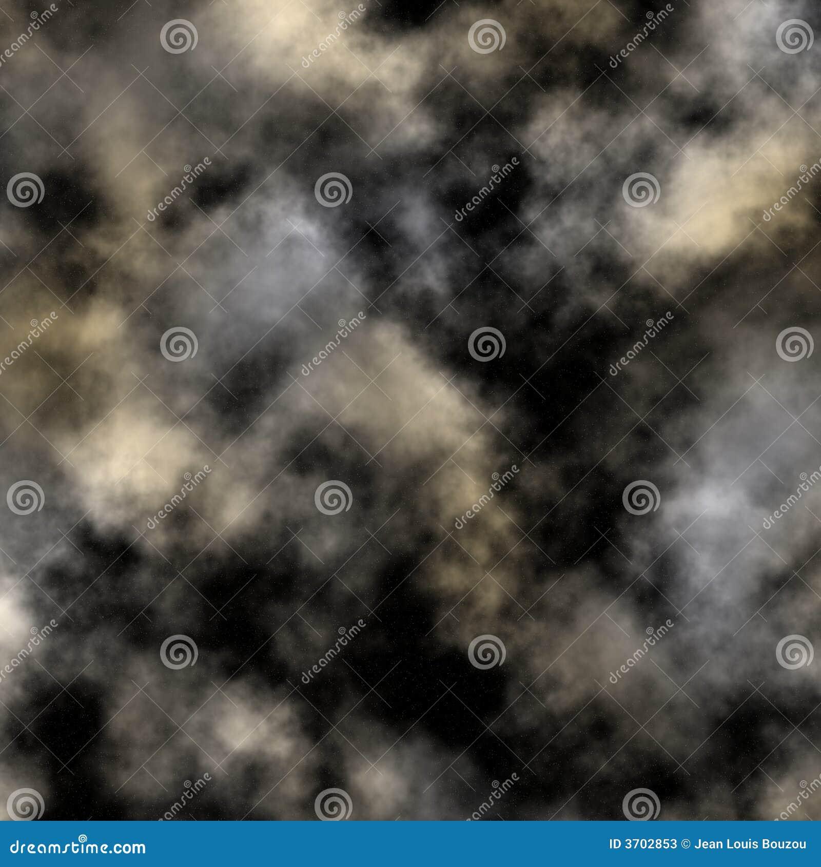 Bewölkter nächtlicher Himmel